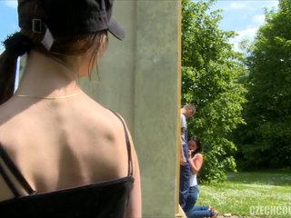 Czech Teen Convinced for Outdoor..