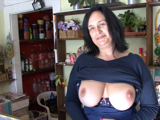 F-Sized Tits Mature Get Fucked in..