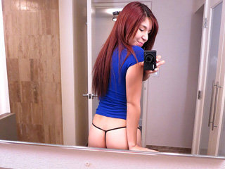 Redhead babe Leah Cortez gets fucked..