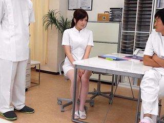 Pretty nurse was taught a lesson at work