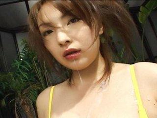 Huge-boobed Cutie Manami Sekino
