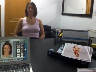 Brunette Czech Chick Wants to be Profi..