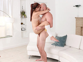 Super hot petite Brooke fucks  her..